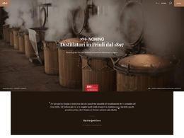 Grappa Nonino酒类企业网站