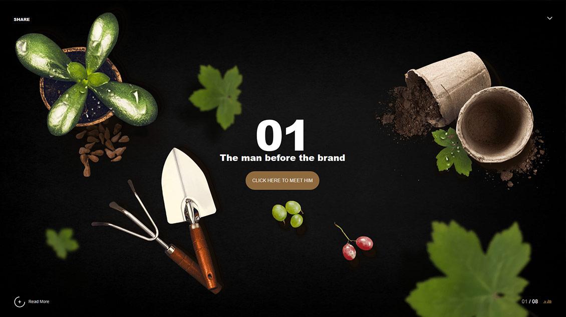Domaine Glinavos酒庄网站
