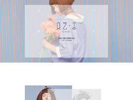 诗凡黎 女装服饰 新品上新 天猫首页活动专题页面设计