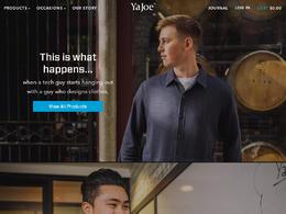 Ya Joe-时尚男性商务装服装网站