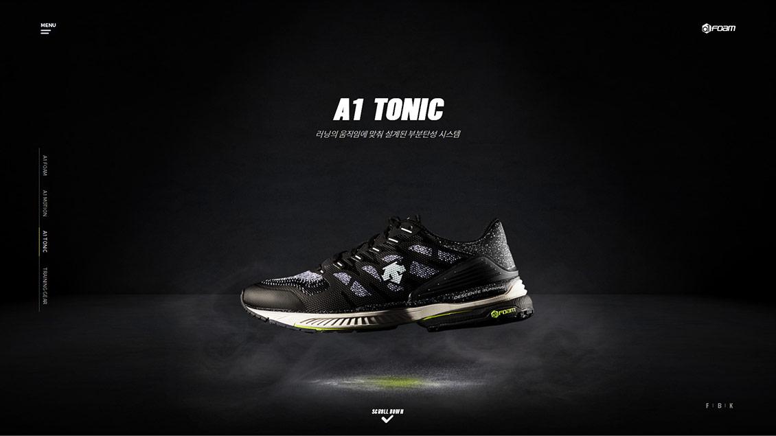 DESCENTE A1FOAM运动鞋运动服饰网站