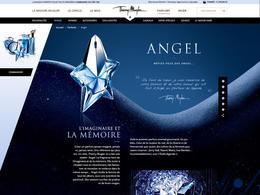 Thierry Mmugler時尚網站欣賞設計截屏