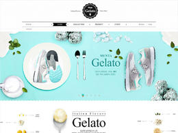 Gelato美食網站欣賞