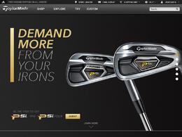 TaylorMade泰勒梅高尔夫球杆产品网站欣赏