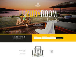 LUXURYROOM酒店网站欣赏设计