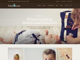 Vilah Bloom 包包网站欣赏设计