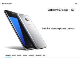 三星Galaxy S7产品网站欣赏