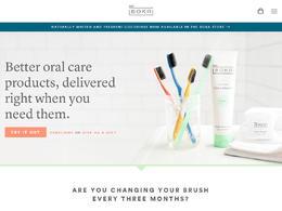 BOKA口腔护理牙刷产品网站欣赏