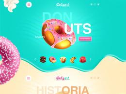 ADHOUSE糖果网站欣赏设计