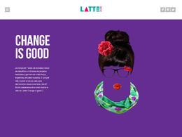 Latte Design 设计公司网站欣赏