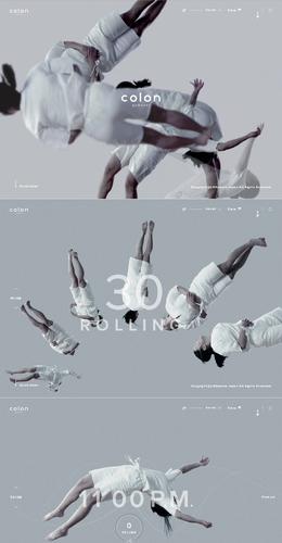 colon 體操運動員專用枕頭產品網站欣賞