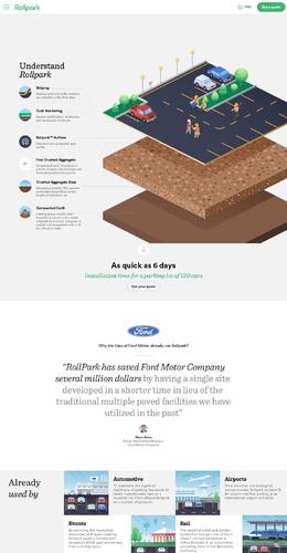 RollPark綠色環保產品網站欣賞