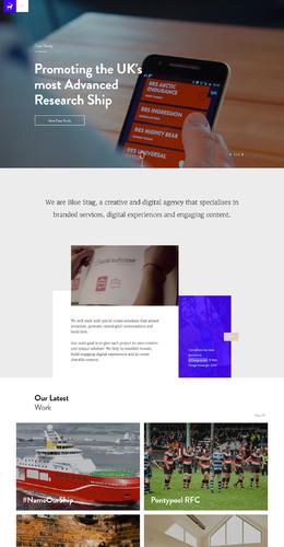 藍色的鹿創意和數字設計機構