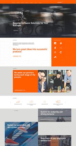 波蘭Sparkbit定制軟件解決方案公司網站欣賞