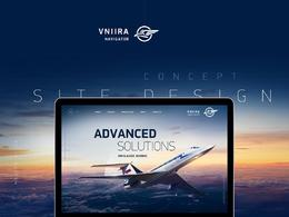 VNIIRA NAVIGATOR航空导航仪表盘网站欣赏设计