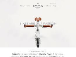 Passion自行车产品网站欣赏设计