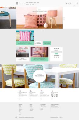 Mademoiselle Dimanche溫馨家居裝飾配件枕頭產品網站欣賞