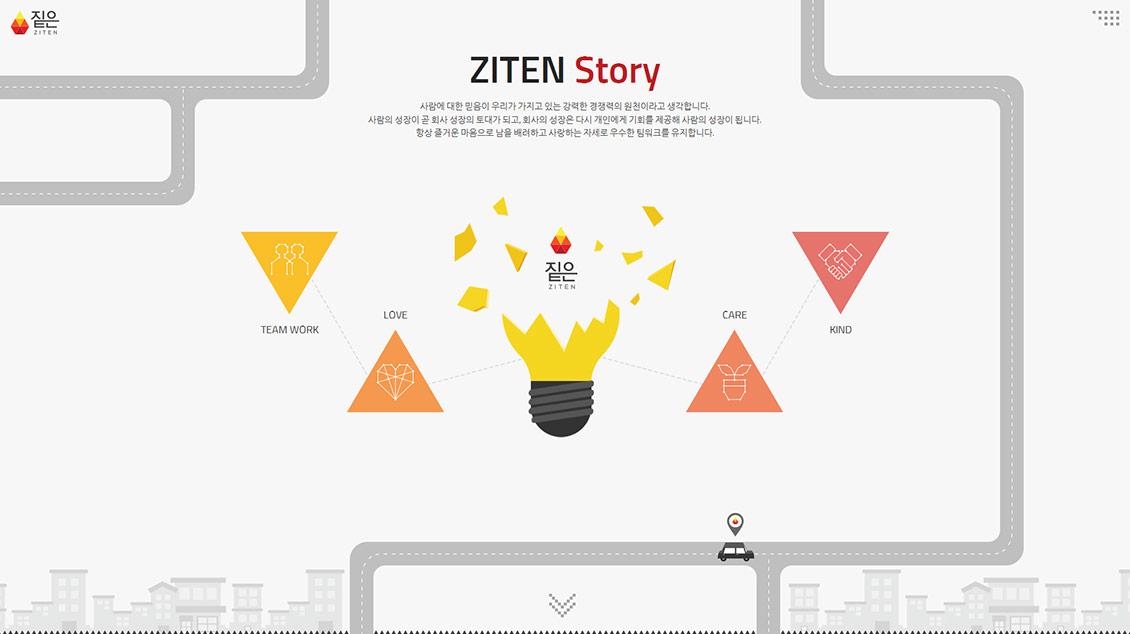 ZITEN韓國設計公司網站欣賞