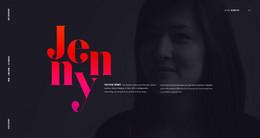 JENNYJOHANNESSON設計師個人作品網頁