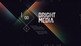 BrightMedia設計機構網站欣賞