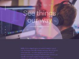 Parallax伦敦数字机构设计网站欣赏