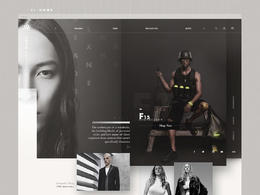 Alexander Wang 时尚服饰网站欣赏排版设计