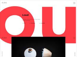 Bang & Olufsen Create設計公司網站欣賞
