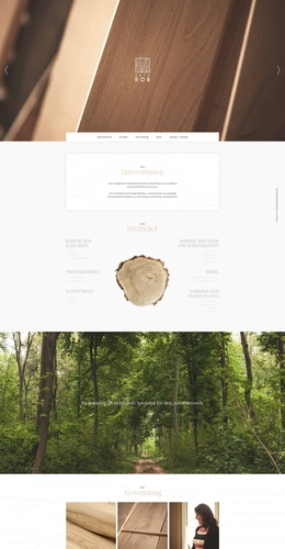 ZALA ROB木材企业网站
