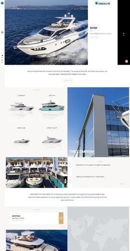 意大利豪华游艇网站-绝对的设计和创新