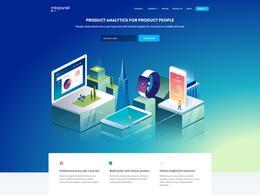 Mixpanel网页手机产品分析企业网站