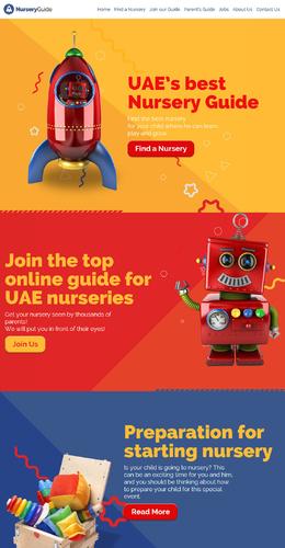 Nursery Guide 卡通網站