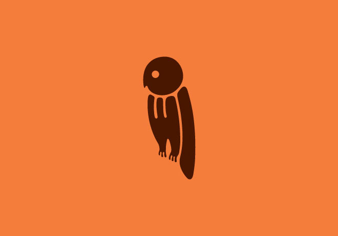 21个创意单词字母动物logo图形设计