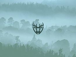 狼,獅子,鹿,老虎,熊,猛犸-動物頭像LOGO設計