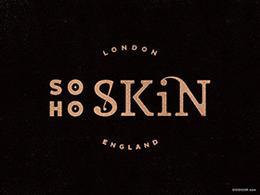 SOHO SKIN伦敦皮肤护理公司标志设计