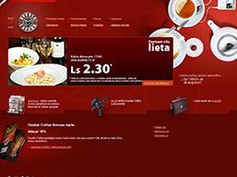 7个全球知名平铺咖啡网站设计