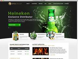 啤酒公司官网设计 EFESGROUP