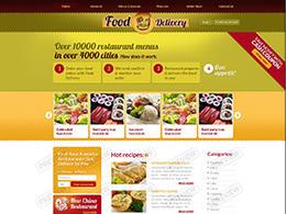 香色诱人的几套国外餐饮美食公司网站页面设计欣赏