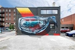 創意墻體及街頭3D涂鴉