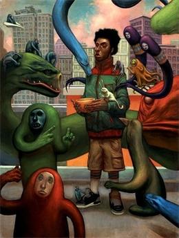 Dennis Brown油画作品