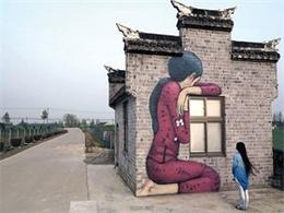 斷壁殘垣上的孩子-法國壁畫家Julien Malland墻體涂鴉 [24P]