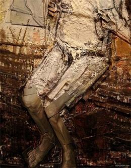 油画与人体裂纹-StudioKxx