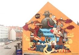 西班牙街頭涂鴉藝術