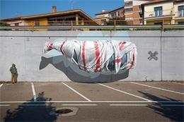 NEVERCREW藍鯨瑞士街頭涂鴉藝術