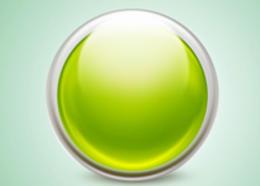Photoshop制作一個漂亮的綠色水晶球