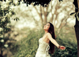 Photoshop调出新娘外景照片怀旧复古效果