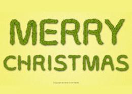 Photoshop设计时尚的圣诞节艺术字教程