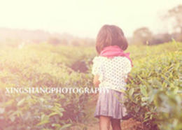 Photoshop調出外景兒童照片日系淡雅效果
