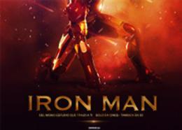 IRON MAN 钢铁人海报制作教程