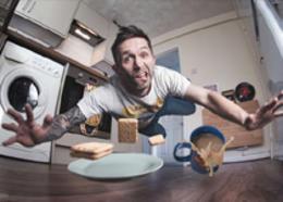 PS达人示范如何拍出厨房扑街照