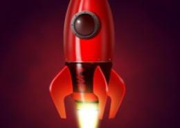PS鼠绘ui火箭